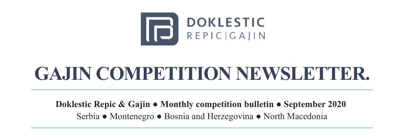 Competition Newsletter: September 2020